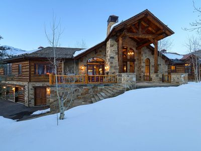 Photo for Ski-in/Out Private Estate with Guest House, Pet Friendly, Events Considered: Russell Estate