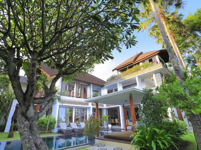 Photo for Modern Balinese Villa with Beautiful Ocean View, Only 50 meters from Beach! MBV