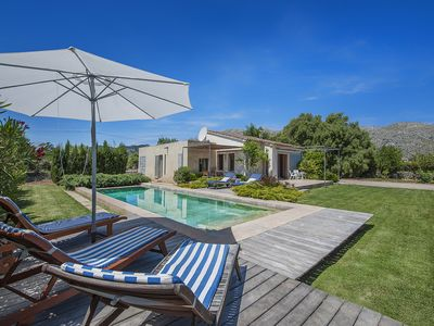 Photo for Villa Cala - beautiful villa between Pollensa and P. Pollensa with private pool