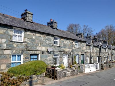 Photo for An attractive stone terraced cottage surrounded by the beauty of the Snowdonia National Park. Provid