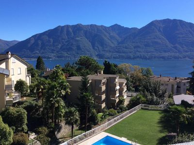 Photo for Well furnished apartment in a quiet, central location with lake view and pool