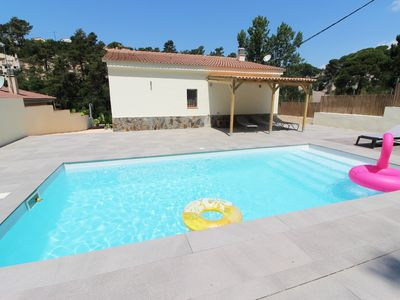 Photo for CAN AVELLANA, nice house with pool north of Lloret de Mar