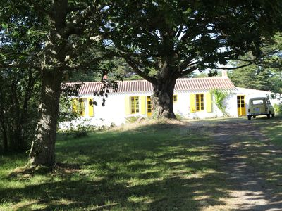 Photo for large charming house, secluded in a park on the edge of the wild coast.