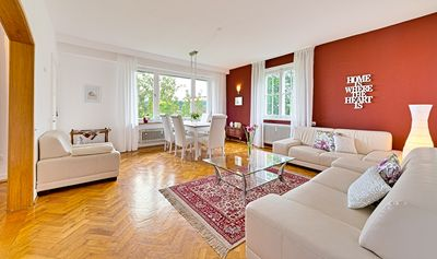 Photo for Exceptional 4-star apartment (121 m2) panoramic view above sea level. Freudenstadt