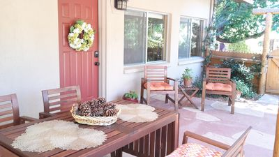 Photo for Sedona Serendipity -- Unique and charming indoors and out, perfect location