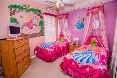 Princess Themed Room (2 twin beds)