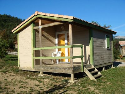 Photo for Camping Couriou **** - Comfort Bungalow 2 Rooms 2 People