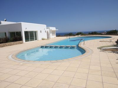 Photo for Next door to Villa Archway 3 bed Villa with Mountain and Sea views
