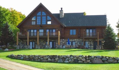 Photo for Full log home with a wonderful view and location!