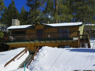 Photo for Boulder Bay Lakefront Cabin - Beautiful cabin located across the street from Big Bear Lake!