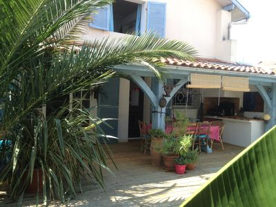 Photo for Charming house, old renovated all comfort, 4 bedrooms 5 minutes from the beaches