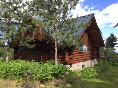 Split Rock Log Cabin-Lake Superior View, Peacefully Set In 100yr old White Pines