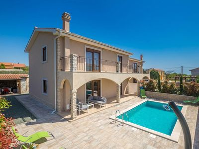 Photo for Modern and luxury holiday home  with private pool in Linardici, Island Krk, Croatia for 10 persons