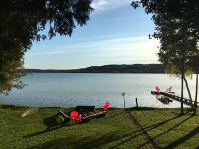 Photo for Right on the water.. Great swimming, sunsets and lake life!
