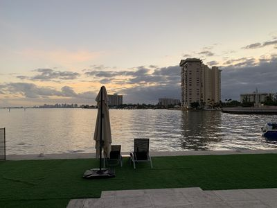 Photo for Bayfront Property with amazing Down Town Skyline Views