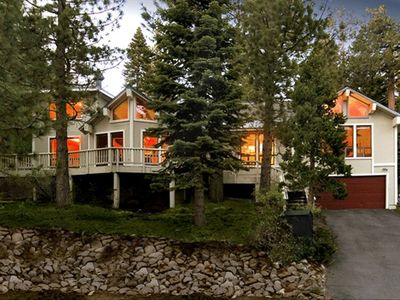 Photo for Tahoe Lodge Style Ambiance with Sauna, Hottub, & Entertainment