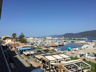 Photo for Order Propriano Location: beautiful T4 in city center, Fantastic view over the port of Propriano...