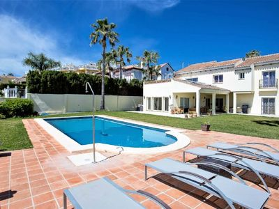 Photo for 4 Bedroom Villa with Private Pool, Central La Cala de Mijas