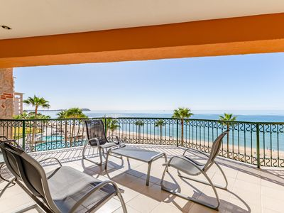 Photo for Sonoran Sea West 406 - 2 Bedroom Upper Floor Ocean Front