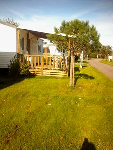 Photo for Comfortable Mobile Home in Family Camping near Beach