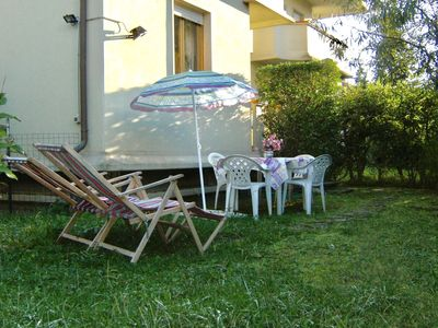 Photo for Two bedroom apartment with private garden.