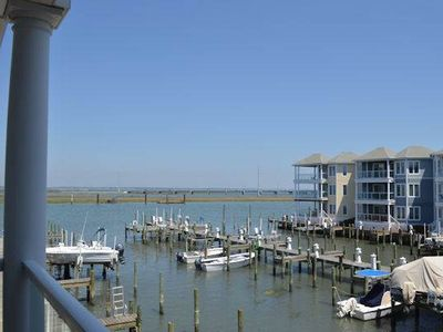 Photo for Chincoteague Getaway on the Bay - 2nd Floor Water Front Condo - In Town