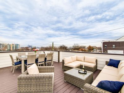 Photo for High-End, 4BR, 4BA Nashville Home in The Gulch – Rooftop Deck, Near Downtown