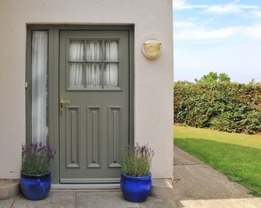 Front Door.  Secure Private Parking on grounds.
