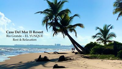Photo for Beach Retreat- EL YUNQUE- Tropical Forest