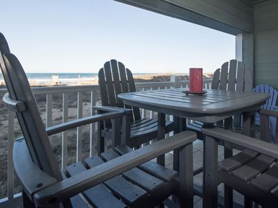 Photo for Beautiful Oceanfront Condo - Private Pool, Great Views& Fitness (FFR110 - Sand, Sun & Fun)
