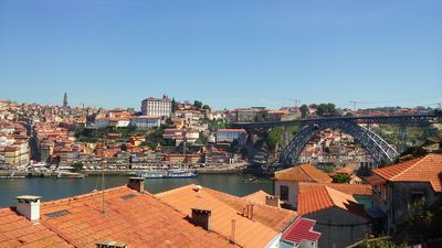 Amazing view of Porto from your private terrace