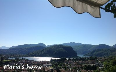 Photo for Ponte Tresa: km. 0.4 from the center and km. 1.3 from the CH border, lake and mountain views