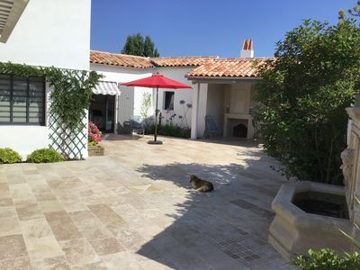 Photo for Family house in Ré, swimming pool 11 * 4m, comfort
