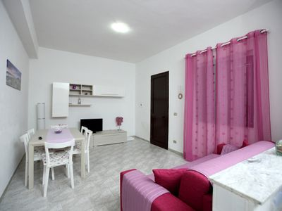 Photo for 3 bedroom apartment directly on the beautiful sandy beach with breathtaking sea views