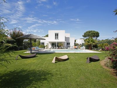 Photo for Corsica frendly Villa  in Calvi , pool close to the beach