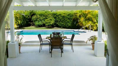 Photo for SPECTACULAR VILLA with Electronic Gates, Private Pool and Tropical Gardens