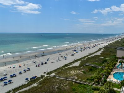 Photo for 3 bedroom, 3 bath oceanfront condo sleeps 8. Great amenities and location!
