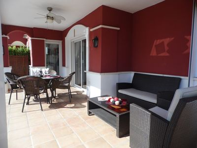 Photo for Two Bed Luxury Villa/Private Pool (South Facing)/Free Wifi/Fully Air Conditioned
