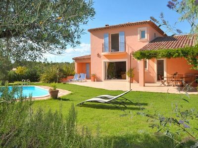 Photo for FREJUS HOUSE, PRIVATE POOL HEATED, very quiet privileged site RESIDENTIAL