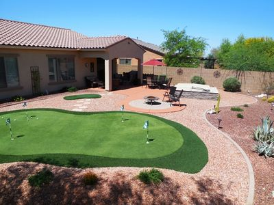Backyard Oasis - Desert Landscaping with Something for Everyone!