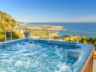 Photo for Modern Villa with beautiful views, private pool and jacuzzi