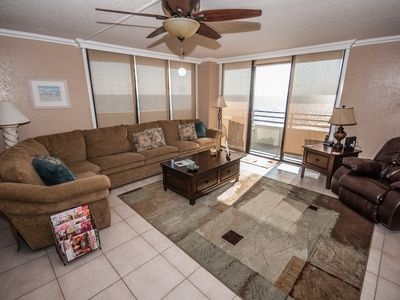 Photo for Wow What reviews!!  New Furniture,  Beachfront Condo,
