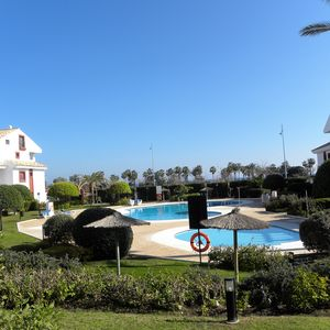 Photo for Modern 3 bedroom garden apartment in San Pedro Alcantara on the beach