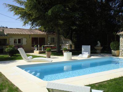 Photo for Very comfortable house with private pool in the countryside, Tastefully decorated.
