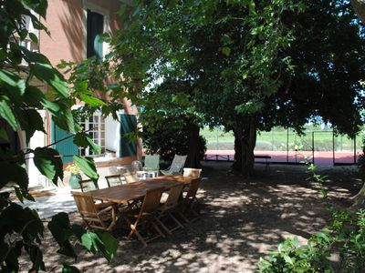 Photo for Charming house of XV ° which has kept its authenticity. TENNIS and SWIMMING POOL.