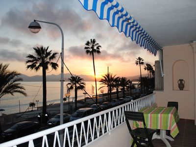 Photo for 1BR Cannes Sea view-Terrace-Wi/Fi-Air Conditioning
