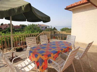 Photo for Three bedroom apartment with terrace and sea view Ugljan (A-8257-a)