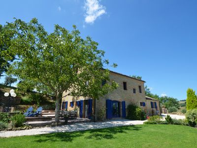Photo for 6 bed Villa with private pool in the Real Italy