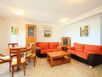 Photo for Apartment in Finestrat with Internet, Pool, Air conditioning, Parking (90763)