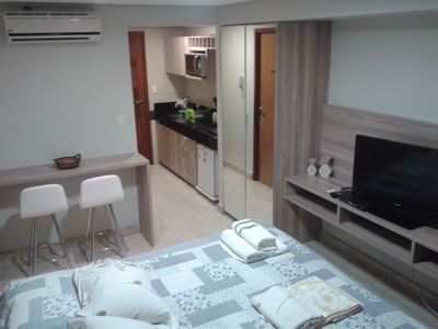 Photo for Flat in Cabo Branco - Couples who love each other and have the Family as their greatest asset!